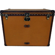 Louis Vuitton  Vuitonitte  orange  trunk