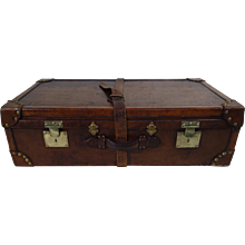 Leather cabin trunk Brand  Wurzl & Sohne