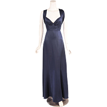 Yves Saint Laurent Numbered Haute Couture Evening Gown