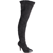 Yves Saint Laurent Sexy Thigh High Boots