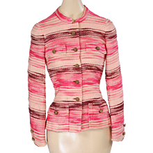 1970's Chanel Numbered Haute Couture Jacket