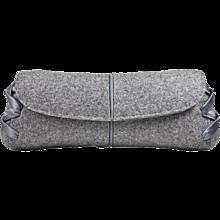 VBH Flannel Clutch Bag