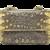 Darby Scott Lizard and Smokey Topaz Handbag