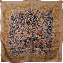 Hermes Indian Dust Scarf