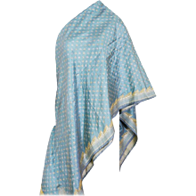 Virginia Witbeck Silk Shawl Wrap