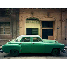 Robert Polidori - Green Car, Havana