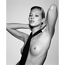 Rankin - Kate Moss with Tie