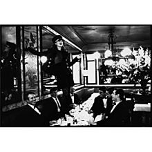Arthur Elgort - Kate Moss at Cafe Lipp II