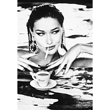 Ellen von Unwerth - Carla Bruni for Lavazza