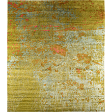 Contemporary Abstract 'Suzu' Rug