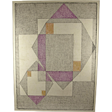 Charles Frederic Ramsey - Modernist Geometric Abstract - PAFA