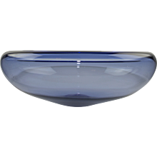Per Lutken for Holmegaard, Denmark, Glass Bowl 1950