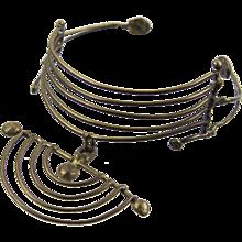 Xavier Gonzalez Modernist Organic Necklace - Mid Century