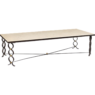 "Jean Royere ""ruban"" coffee table"