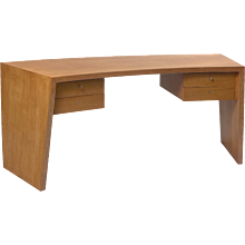 Jean Royere curved desk