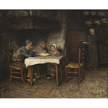 Interior with family