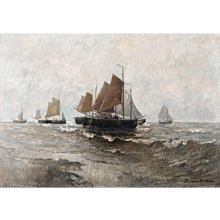 Fishing Boats on the high seas