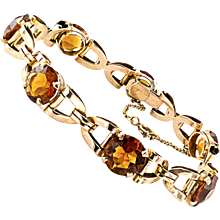 1940s Citrine Bracelet
