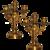 Candlestick Gilded Bronze 19th Century