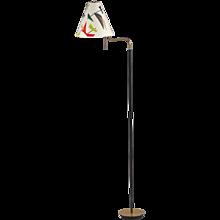J. T. Kalmar Floor Lamp Model Rudi (Model 2067), Vienna, 1950