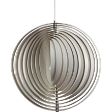 Original Pendant Suspension Moonlight Designed Verner Panton, 1960