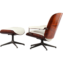 Lounge chair with ottoman, designed Ico Parisi by MIM Roma, Italy 1955.