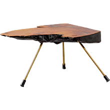 Tree Trunk Table in the style of Carl Auböck