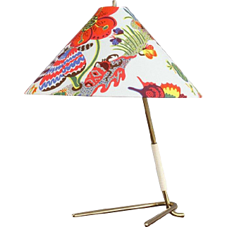 Table Lamp by J.T. Kalmar, Vienna, 1950