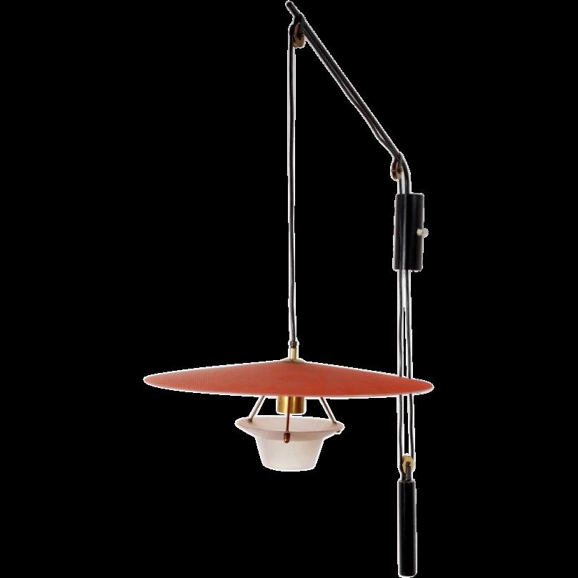 adjustable italian swing arm wall lamp italian from zei