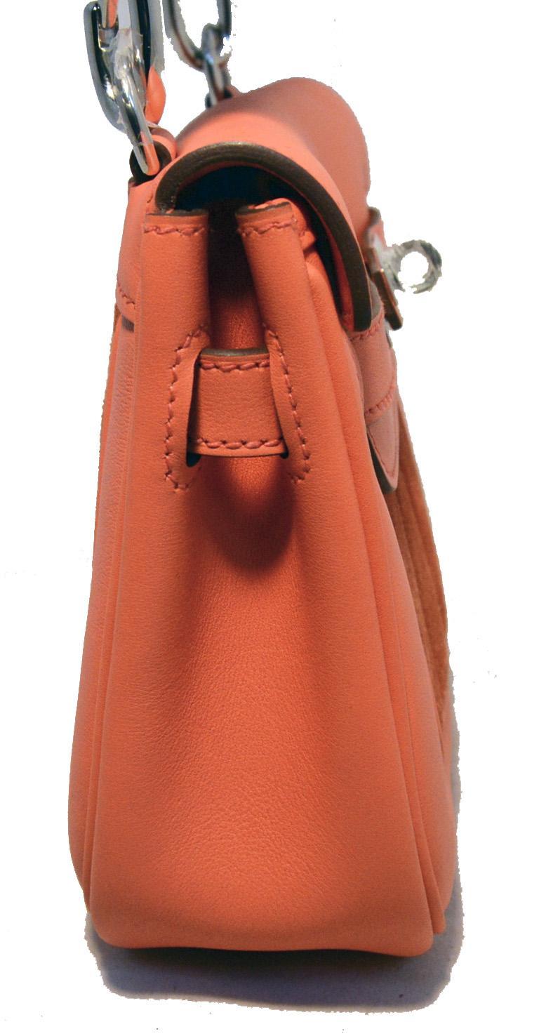 hermes orange suede and swift leather berline bag from. Black Bedroom Furniture Sets. Home Design Ideas