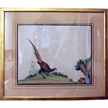 Pair of Chinese Bird Paintings