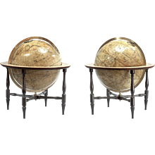 A Pair of Regency Globes