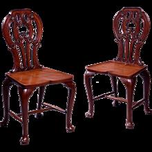 George III Hall Chairs