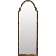 Queen Anne Mirror with Jappaning