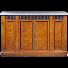 Pair of Pollard Oak Cabinets