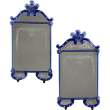 Pair of Venetian Mirrors