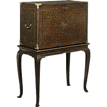 17th Century Cabinet on Stand