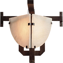 "Pierre Chareau reedition ""Potence"" sconce"