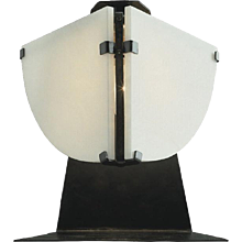 "Pierre Chareau reedition ""Quart de rond"" lamp"