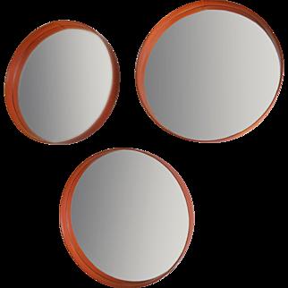 Three vinyl mirrors