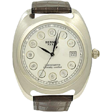 Hermes Dressage Limited Edition Platinum Watch