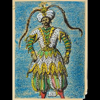 Costume Design By Eugene Berman, 1955