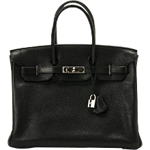 Hermes 35cm Black Togo Birkin with Palladium Hardware