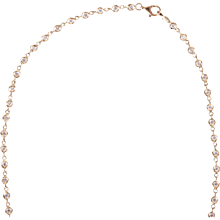 Sidney Garber 18K Diamond Necklace