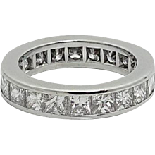 Kwiat Platinum Diamond Eternity Band