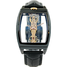 Corum Golden Bridge Ceramic Watch 113.161.15/0001 000R