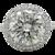 6.47 Carat Round Brilliant Diamond White Gold Engagement Ring