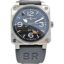 Bell & Ross BR03-92 Steel Watch