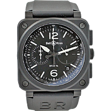 Bell & Ross BR03-92 Black Matte Watch