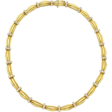Tiffany & Co. Diamond Link Necklace